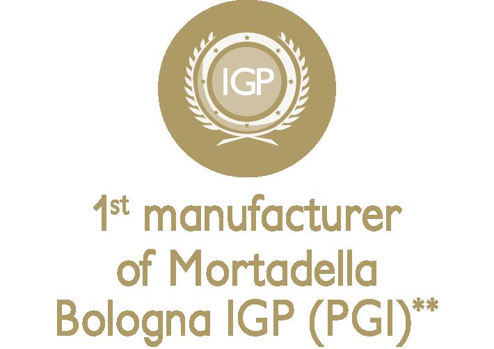 1° brand Mortadella Bologna IGP