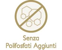 Senza polifosfati aggiunti